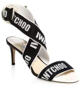 Jimmy Choo Bailey Logo Strap Sandals