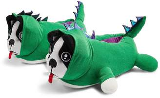Topshop Topshp Dino Dog Slippers