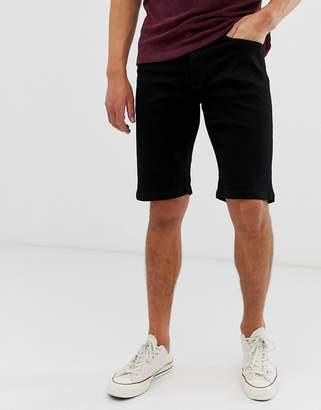 Voi Jeans denim shorts in black