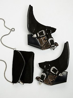 Icon Western Boot by Jeffrey Campbell x Free People $178 thestylecure.com