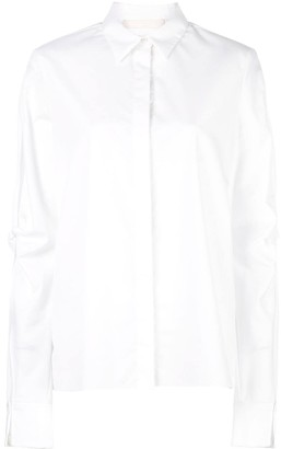 Dion Lee knot sleeve shirt