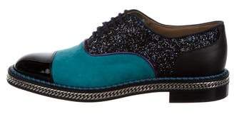 Christian Louboutin Dechaine Flat Oxfords w/ Tags