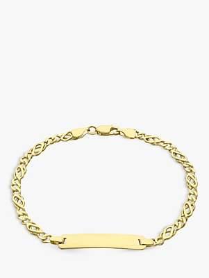 Celtic IBB 9ct Gold ID Bracelet, Gold
