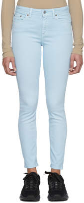 Acne Studios Bla Konst Blue Climb Fit Jeans