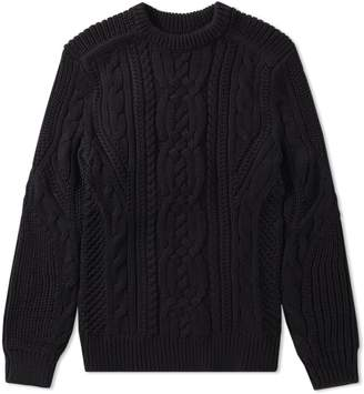 70feb88175 Mens Chunky Cable Knit Sweater - ShopStyle