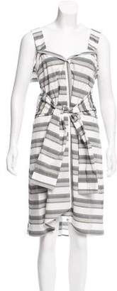 Derek Lam Striped Midi Dress w/ Tags