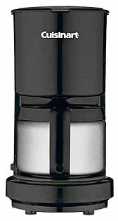 4-Cup Coffee Maker, Black
