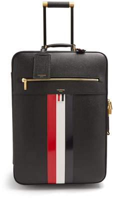 Thom Browne Pebbled-leather suitcase