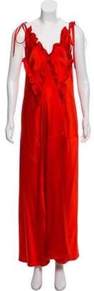 ATTICO Halter Maxi Dress w/ Tags