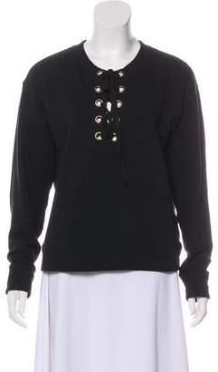Mother Crew Neck Long Sleeve Sweatshirt