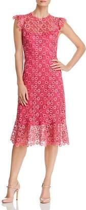 Elie Tahari Florance Floral-Lace Dress