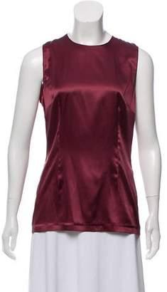 Dolce & Gabbana Sleeveless Silk Top