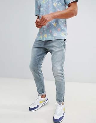 G Star G-Star D-Staq 3d skinny light aged jeans