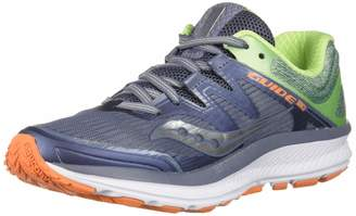 Saucony Guide ISO Running Shoes, Vizired/Black, 9 M M US Adult