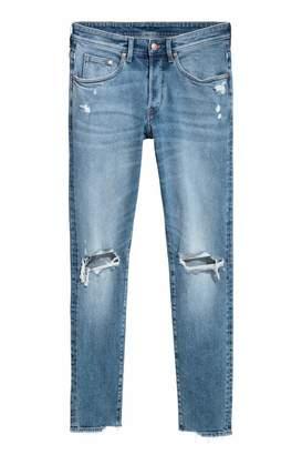 H&M Trashed Skinny Jeans