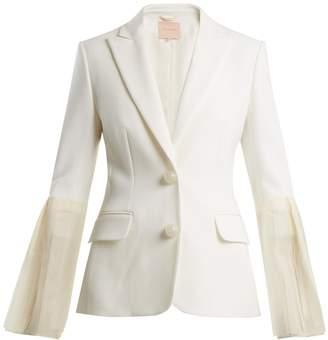 Roksanda Alden silk-blend crepe blazer