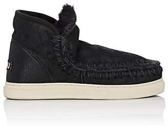 Mou Women's Mini Eskimo Sheepskin Sneaker Boots