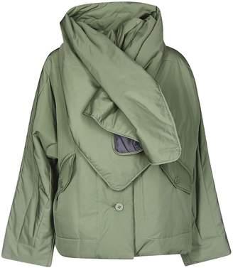 Issey Miyake Short Scarfed Jacket
