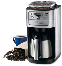 12-Cup Grind and Brew Coffee Maker