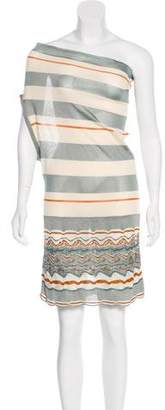 Missoni One-Shoulder Mini Dress