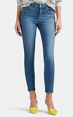L'Agence Women's Margot High-Rise Skinny Crop Jeans - Lt. Blue