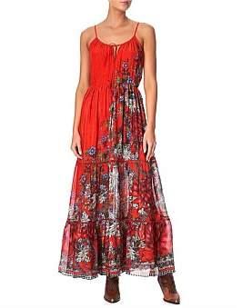 Camilla Dress W/ Front Tie Detail