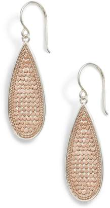 Anna Beck Long Oval Drop Earrings