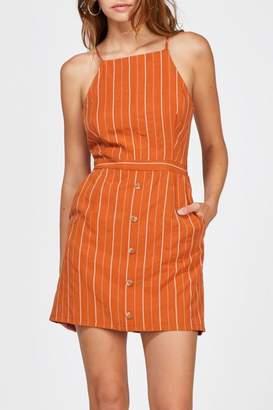 Greylin Bruna Pinstripe Dress