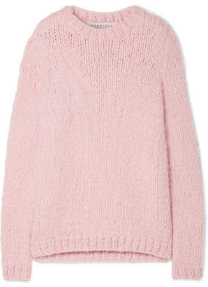 Gabriela Hearst Kimber Cashmere Sweater - Baby pink