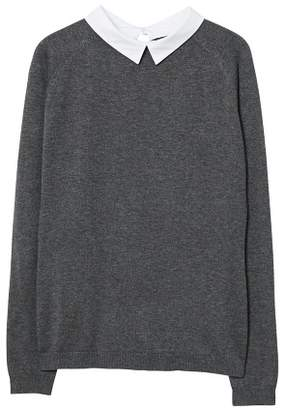 MANGO Classic collar sweater