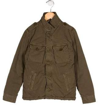 Hartford Boys' Utility Zip-Up Jacket