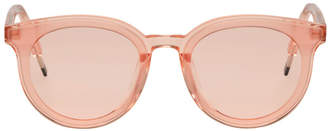 Gentle Monster Pink See Saw Sunglasses