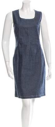 Dolce & Gabbana Knee-Length Sleeveless Dress