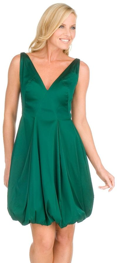 Maggy london sleeveless bubble dress