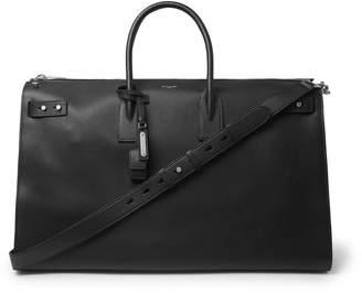 Saint Laurent Sac De Jour Medium Full-Grain Leather Holdall - Men - Black