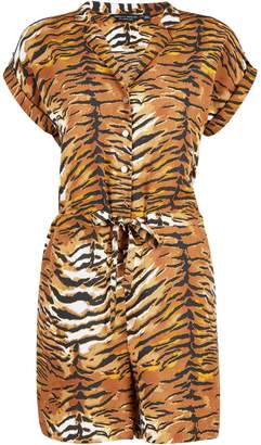 0a453dbfac Dorothy Perkins Womens Multi Colour Tiger Print Playsuit