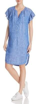 Joie Fermina Ruffle-Sleeve Dress
