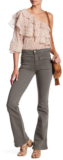 7 For All Mankind7 For All Mankind Braided Flare Jean