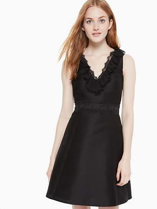 Kate Spade Lace mikado dress
