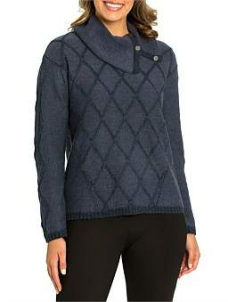 Marc O'Polo Marco Polo Long Sleeve Soft Cable Sweater