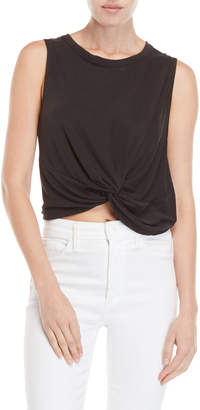 Lush Knotted Cupro Tank Top