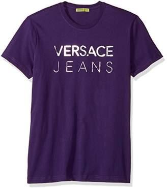 Versace Men's Foil Logo Tee