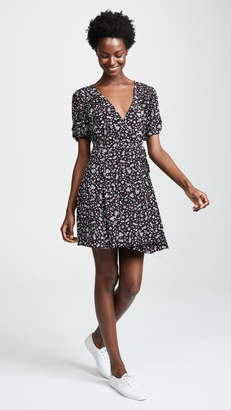 MinkPink Ditsy Dots Wrap Dress