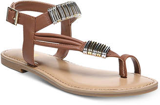 Bar III Vera Flat Sandals, Created for Macy's Women's Shoes