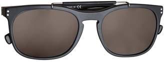 Burberry Eyewear Top Bar Square Frame Sunglasses