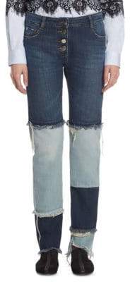 Each X Other Patchwork Cotton Jeans