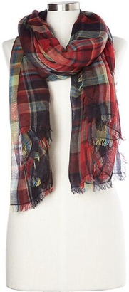 Oversize plaid scarf $54.95 thestylecure.com