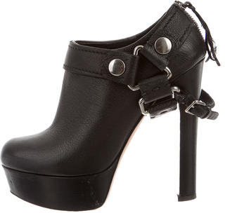 Miu Miu Miu Miu Leather Ankle Boots