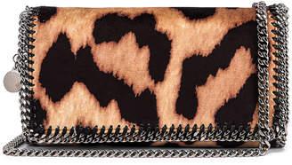 Stella McCartney Clutch Crossbody Bag in Camel & Black | FWRD