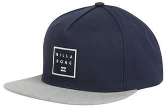 Billabong Stacked Snapback Baseball Cap